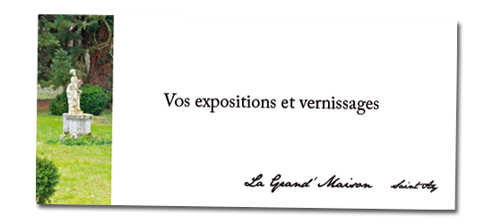 expositions et vernissages