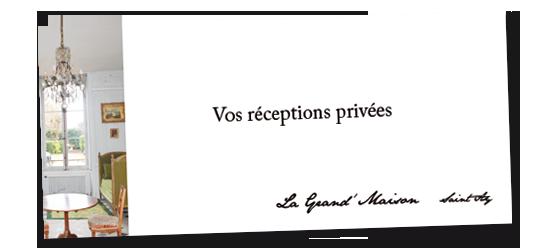 réceptions privées